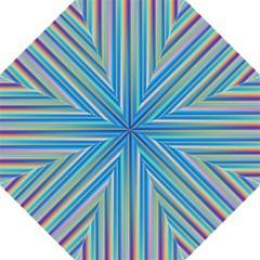 Colorful Color Arrangement Folding Umbrellas