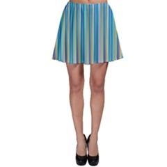 Colorful Color Arrangement Skater Skirt