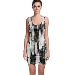 Pattern Structure Background Dirty Bodycon Dress