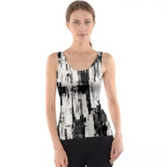 Pattern Structure Background Dirty Tank Top