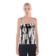 Pattern Structure Background Dirty Spaghetti Strap Top