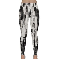 Pattern Structure Background Dirty Classic Yoga Leggings