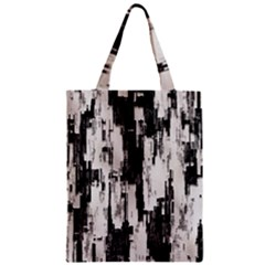 Pattern Structure Background Dirty Zipper Classic Tote Bag