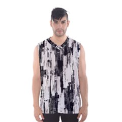 Pattern Structure Background Dirty Men s Basketball Tank Top