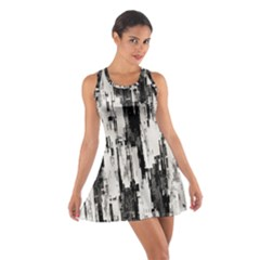 Pattern Structure Background Dirty Cotton Racerback Dress
