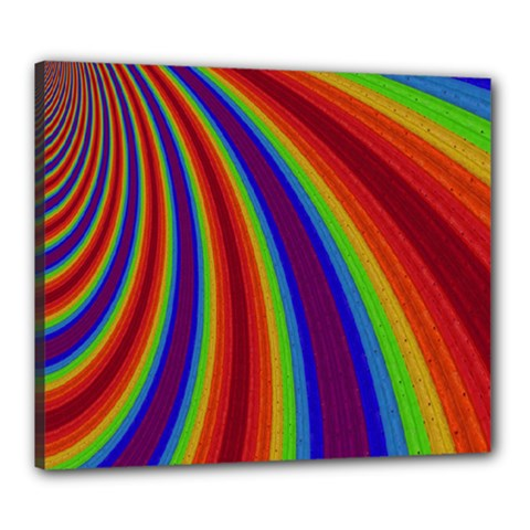 Abstract Pattern Lines Wave Canvas 24  X 20