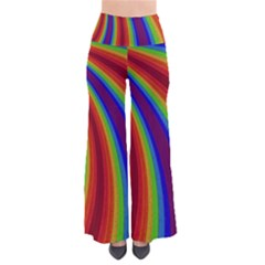 Abstract Pattern Lines Wave Pants