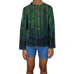 Matrix Communication Software Pc Kids  Long Sleeve Swimwear