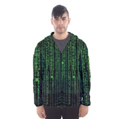 Matrix Communication Software Pc Hooded Wind Breaker (men)