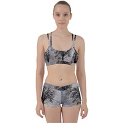 Snow Snowfall New Year S Day Women s Sports Set