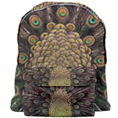 Peacock Feathers Wheel Plumage Giant Full Print Backpack