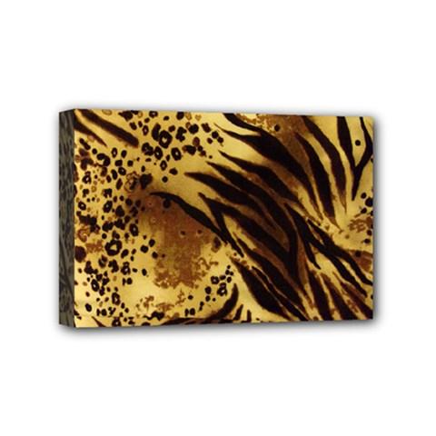 Pattern Tiger Stripes Print Animal Mini Canvas 6  X 4