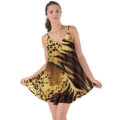 Pattern Tiger Stripes Print Animal Love The Sun Cover Up