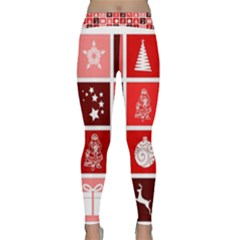 Christmas Map Innovative Modern Classic Yoga Leggings