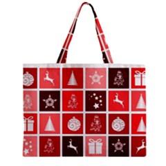 Christmas Map Innovative Modern Zipper Mini Tote Bag