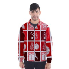 Christmas Map Innovative Modern Wind Breaker (men)