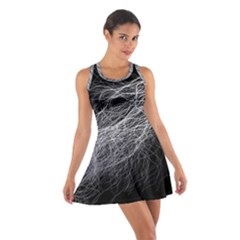 Flash Black Thunderstorm Cotton Racerback Dress