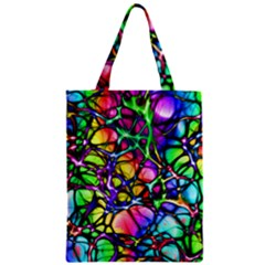 Network Nerves Nervous System Line Zipper Classic Tote Bag