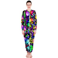 Network Nerves Nervous System Line Onepiece Jumpsuit (ladies)