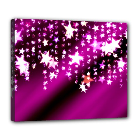 Background Christmas Star Advent Deluxe Canvas 24  X 20