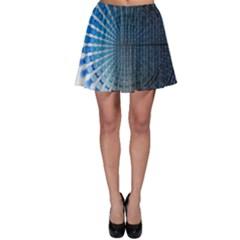 Data Computer Internet Online Skater Skirt