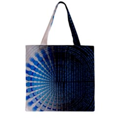 Data Computer Internet Online Zipper Grocery Tote Bag
