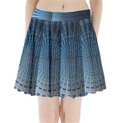 Data Computer Internet Online Pleated Mini Skirt