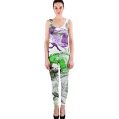 Horse Horses Animal World Green Onepiece Catsuit