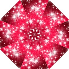 Christmas Star Advent Background Hook Handle Umbrellas (large)
