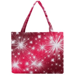 Christmas Star Advent Background Mini Tote Bag