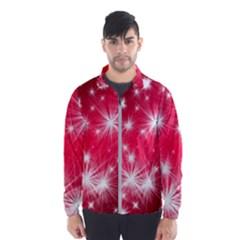 Christmas Star Advent Background Wind Breaker (men)