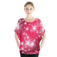 Christmas Star Advent Background Blouse