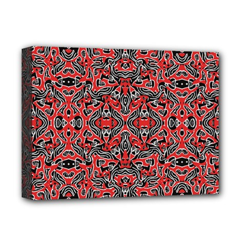 Exotic Intricate Modern Pattern Deluxe Canvas 16  X 12