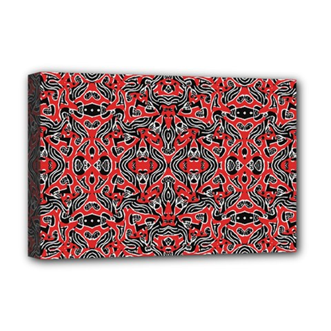 Exotic Intricate Modern Pattern Deluxe Canvas 18  X 12