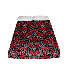 Exotic Intricate Modern Pattern Fitted Sheet (full/ Double Size)