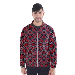 Exotic Intricate Modern Pattern Wind Breaker (men)