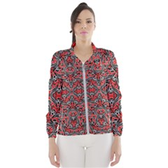 Exotic Intricate Modern Pattern Wind Breaker (women)