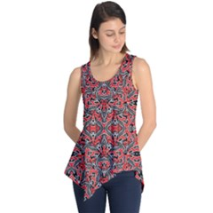 Exotic Intricate Modern Pattern Sleeveless Tunic