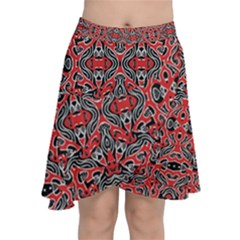 Exotic Intricate Modern Pattern Chiffon Wrap