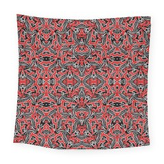 Exotic Intricate Modern Pattern Square Tapestry (large)