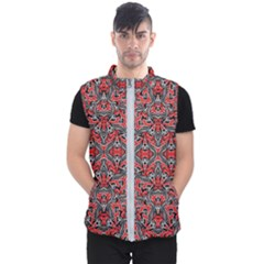 Exotic Intricate Modern Pattern Men s Puffer Vest