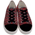 Exotic Intricate Modern Pattern Men s Low Top Canvas Sneakers View1