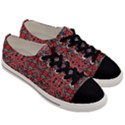 Exotic Intricate Modern Pattern Men s Low Top Canvas Sneakers View3