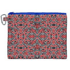 Exotic Intricate Modern Pattern Canvas Cosmetic Bag (xxl)