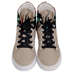 Breathe In Bold Men s Hi Top Skate Sneakers