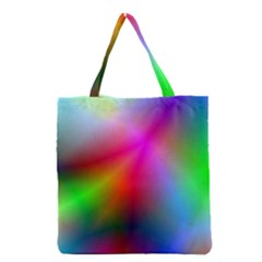 Course Gradient Background Color Grocery Tote Bag