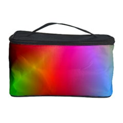 Course Gradient Background Color Cosmetic Storage Case