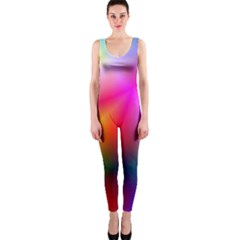 Course Gradient Background Color Onepiece Catsuit