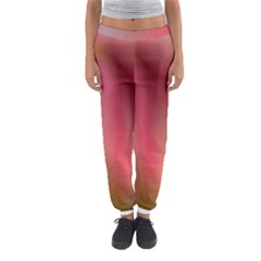 Colorful Colors Wave Gradient Women s Jogger Sweatpants