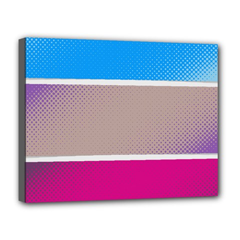 Pattern Template Banner Background Canvas 14  X 11